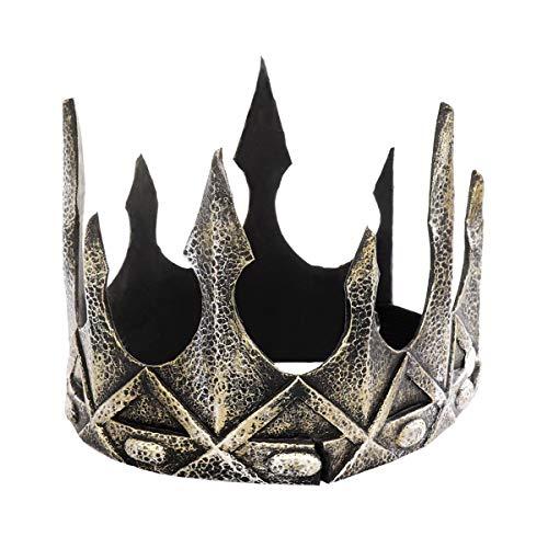 WASAIO Mittelalter König Krone Dekoration