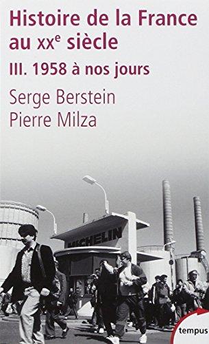 Histoire de la France au XXe sicle (3)