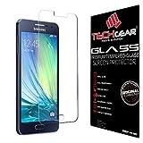 TECHGEAR® Galaxy A3 Verre, Protecteur d'Écran Original en Verre Trempé Compatible pour Samsung Galaxy A3 (Séries SM-A300)