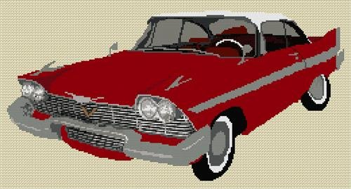 1958-plymouth-fury-christine-cross-stitch-chart-by-stitchtastic
