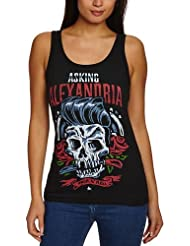 Plastic Head - T-shirt Femme - Asking Alexandria Grease TV