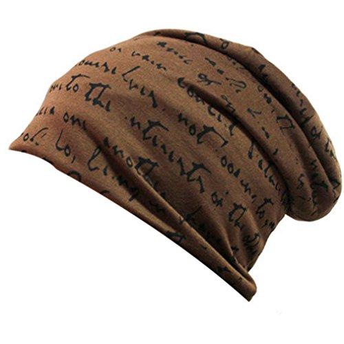 THENICE Unisex Beanie Thin Hip-Hop Cap Kappe Brief Hut (braun) (Polo-hüte Für Männer Beanie)