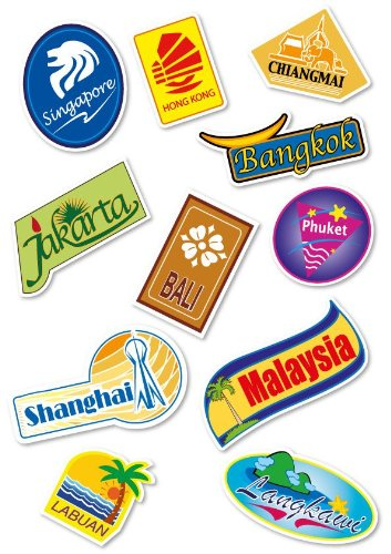 supertogether-world-travel-locations-suitcase-stickers-set-of-11-multi-coloured