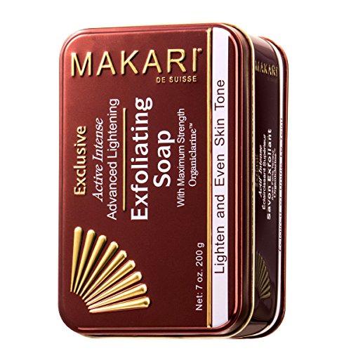 Jabón Exfoliante Aclarante Piel 7oz Línea Makari