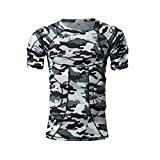 Body Safe Garde RembourršŠ Compression Sport š€ Manches Courtes T-Shirt De Protection šŠPaule Rib Poitrine Protecteur Camo Costume pour Football Basketball Paintball Rugby Parkour Extršºme