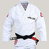 Valor Victory 2.0 Premium Lightweight BJJ GI White | Free Drawstring GI Bag
