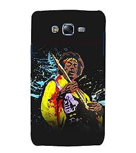 printtech Jimi Hendrix Music Guitar Back Case Cover for Samsung Galaxy A8::Samsung Galaxy A8 A800F