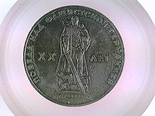 Münzen CCCP, Sowjetunion, 1 Rubel, 1965 gebraucht kaufen  Wird an jeden Ort in Deutschland
