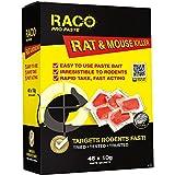 Cebo con veneno para ratas (48 bolsas x 10g)