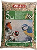 Zolux Granaglie Giardino kg. 5 Alimento per Uccelli, Multicolore, Unica