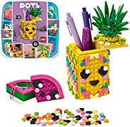 LEGO DOTS Pineapple Pencil Holder, DIY Desk Accessories Decorations Set, Art and Craft for Kids  41906