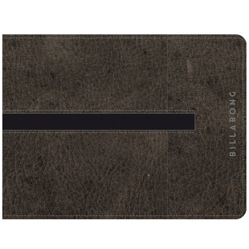 BILLABONG 2016 Empire Snap Leather Wallet Char Z5LW02 -