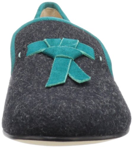Cole Haan Sabrina Tassel Loafer Black Flannel/Pendant Teal