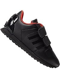 best authentic 84281 f7793 adidas ZX 700 Star Wars Darth Vader Sneaker Bambini piccoli - Nero 1, 19 EU