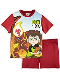 db72210276ffe Ben 10 Official Boys Short Sleeve Pyjamas Set 100% Cotton 2-8 Years -