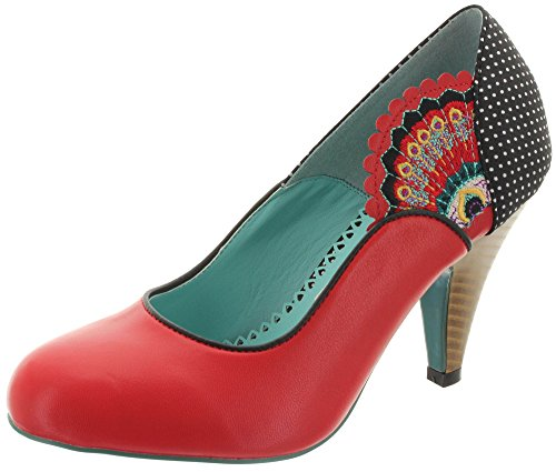 Dancing Days by Banned Pumps SWAY 196 Red