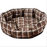 HMMDD Cestello Ottagonale Nido Nido per Animali Domestici Cucciolata Cucciolata Canile Cuccia per Cani Teddy VIP Cuccia Quattro Stagioni