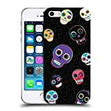 Head Case Designs Offizielle Turnowsky Schaedel Muster 2 Soft Gel Hülle für iPhone 5 iPhone 5s iPhone SE