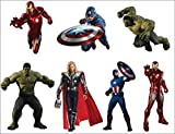 Stickersnews - Stickers enfant planche de stickers Avengers ref 8870 Dimensions - 22x29cm