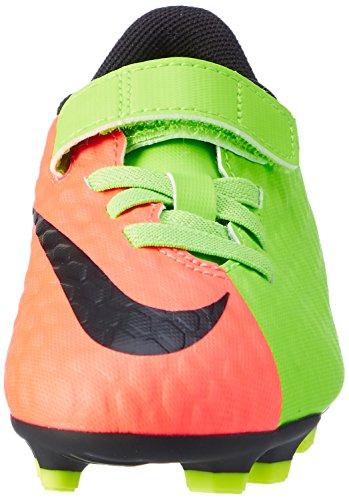 Nike Hypervenom Phade Iii (V) Fg, Scarpe da Calcio Unisex – Bambini, Multi-Coloured Verde (Elctrc Green/black-hyper Orange-volt)