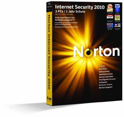 Norton Internet Security 2010 - 3 PCs