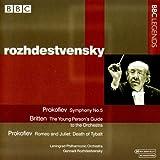 Rozhdestvensky Dirige Prokofiev,Britten