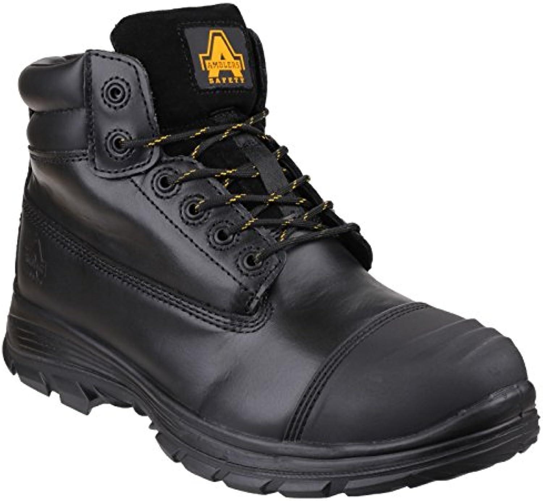Amblers Safety Hombre FS301 Brecon Guardia Metatarsiano Botas Seguridad Cordones Negro 41
