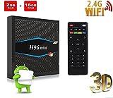Android 7.1TV Box, linstar WiFi Smart Netzwerk TV Set-Top-Box Unterstützt 3D Spiele Spielen, 4K Video Dekodierung und Wiedergabe, 1080p HD, 2.4G/5G Dual Band Wireless, Amlogic s905W Chip, Quad-Core 64-bit CPU