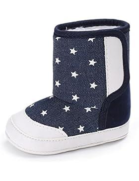 Clode® Sterne Baby Soft Sole Schnee Stiefel Soft Crib Schuhe Kleinkind Stiefel
