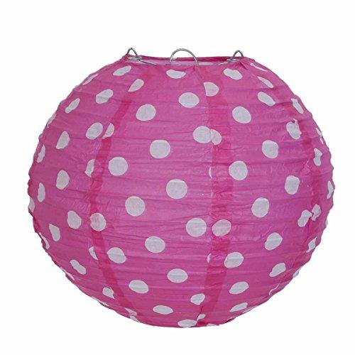 clayre-eef-6lak0327s-de-la-pantalla-de-papel-con-diseno-de-rosa-de-lunares-de-colour-blanco-de-taman