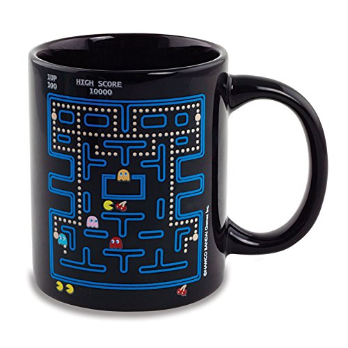 Pac-Man Heat Change Mug in Presentation Box