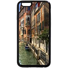 iPhone 6S / iPhone 6 Case (Black) lovely channel in venice