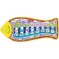 Preisvergleich für Fisch Xylophon Piano Music Entwicklungsspielzeug Touch Kick Play Spaß Spielzeug Kinder Musikinstrumente