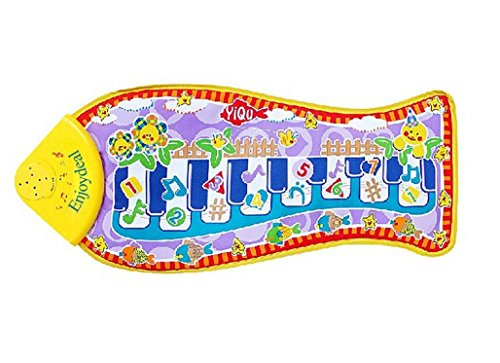 Honta Ideal als Kinderparty Fisch Xylophon Piano Music Entwicklungsspielzeug Touch Kick Play Spaß Spielzeug Kinder Musikinstrumente