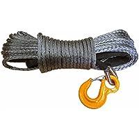 Raw Rope plástico Cuerda cabrestante (10,5T 10mm 30m set negro