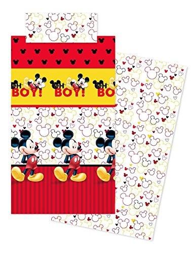 Disney Juego sabanas Mickey Boy Rojo 90cm