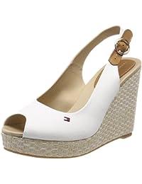 Tommy Hilfiger Metallic Mid Beach Sandal amazon-shoes grigio Primavera Colecciones Comprar Barato En Italia WfxZdB