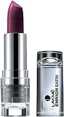 Lakme Enrich Satins Lip Color, Shade W267, 4.3g