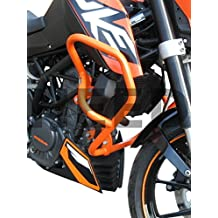 Defensa protector de motor Heed KTM 125 Duke - naranja