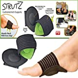 #7: WAVE SHOP 1 Pair Foot Support Strutz Cushioned Arch Helps Decrease Plantar Fasciitis Pain
