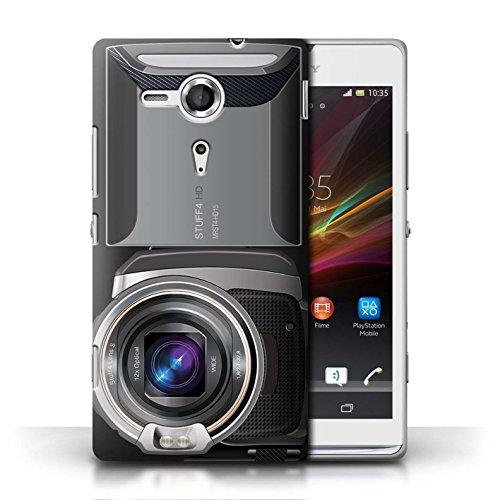 Coque en plastique pour Sony Xperia SP/C5303 Collection Appareil Photo - Caméscope Caméscope