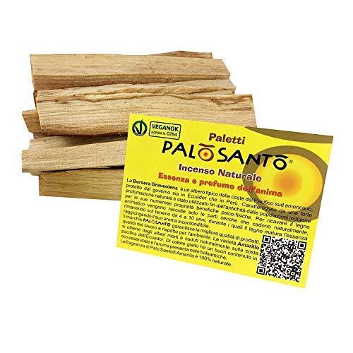 Natürlicher Weihrauch Palo Santo Stäbchen Variante Popular - Zertifiziertes und natürliches Palo Santo Holz - 100 gr. (Weihrauch Palo)