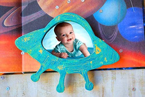 Baby Fun Blau Kinderbilderrahmen für zwei Fotos Kinder Rahmen Porträt Fotorahmen