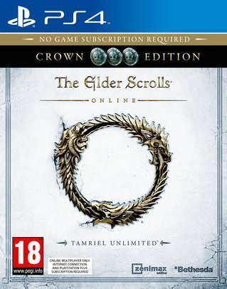 The Elder Scrolls Online - Crown Edition (Tamriel Unlimited) PS4 - PlayStation 4