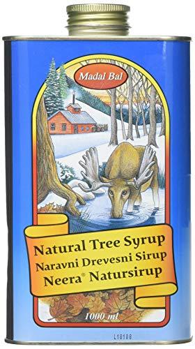 Madal Bal 1000 ml Natural Tree Syrup Tin (Package Design May Vary)