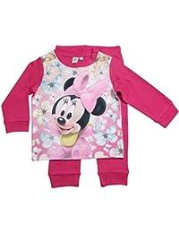 Minnie Mouse Kollektion 2016 Schlafanzug 74 80 86 92 98 Mädchen Pyjama Disney Neu Maus Fuchsia