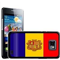 Fancy A Snuggle - Carcasa rígida para Samsung Galaxy S2 i9100, diseño de la bandera