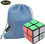 MoYu LingPo 2x2x2 Speed Puzzle Cube Toy Brain Tester Black + One MoYu Cube Bag