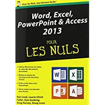 Word, Excel, PowerPoint & Access 2013 pour les Nuls by Dan Gookin (November 11,2013)