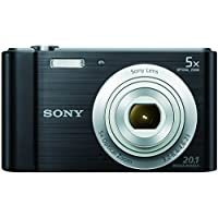 سوني سايبر-شوت DSC-W800 (كاميرا بوينت اند شوت، 20.1 ميجابيكسل، اسود)
